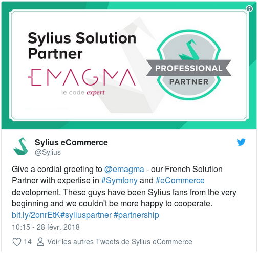 Emagma Sylius Partner